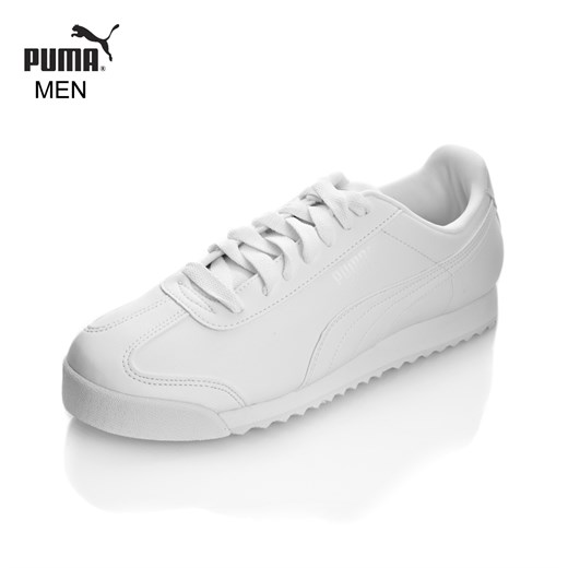 Ayakkabi Puma 35357221 ROMA BASIC WHITE-LIGHT GRAY