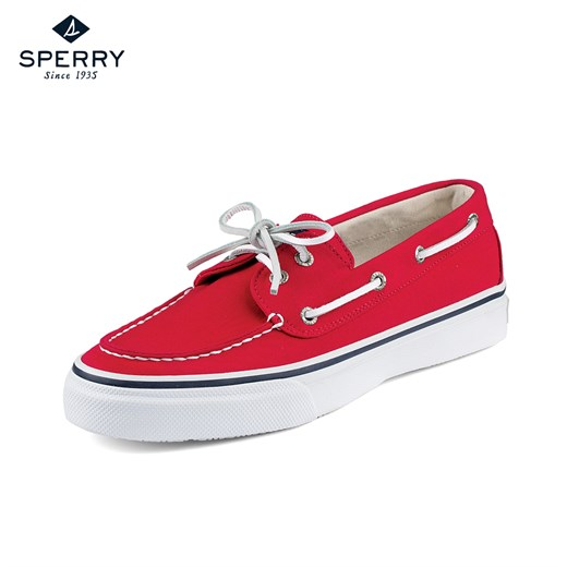 Ayakkabi Sperry STS10650  BAHAMA 2-EYE VARSITY RED