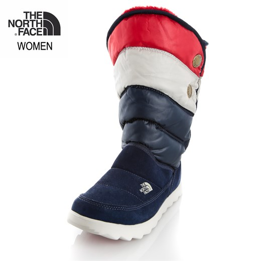 The North Face LACİVERT Kadın Bot T0A0Y2G5H  W SOPRIS  -  SHINY COSMIC BLUE-TNF RED