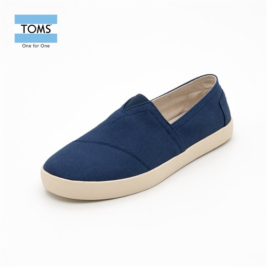 Ayakkabi Toms 10004815  DARK DENIM CANVAS MN AVA SNEAK  /  NAVY