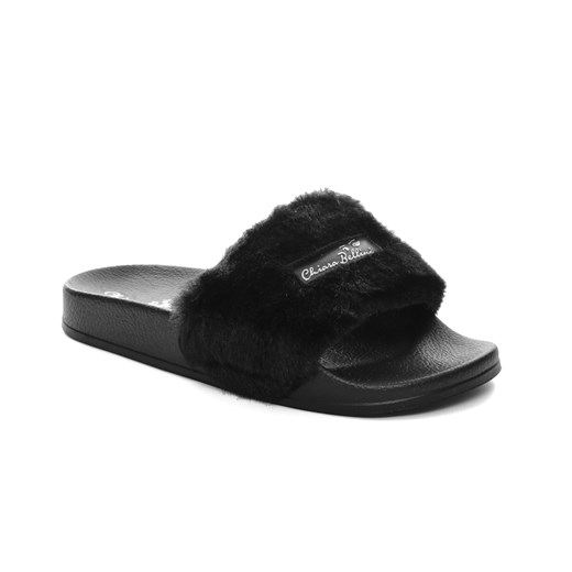 Chiara Bellini Kadın Terlik yt TM 88.7811L CHIARA BELLINI SLIPPER BLACK PU SOLE BLACK
