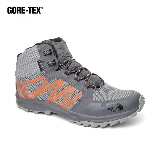 Erkek Outdoor Gore-Tex  Bot T93FX22EH M LW FP MID GTX (GC) THE NORTH FACE  GRIFFIN GREY-SCARLET IBIS