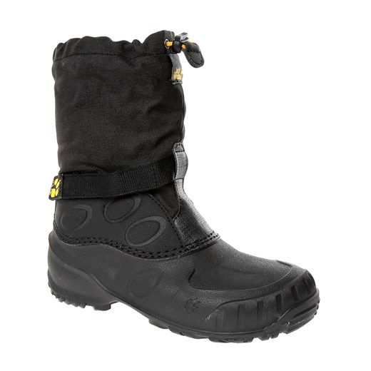 Jack Wolfskin  Erkek Bot ICELAND HIGH K J WOLFSKIN FOOTWEAR BLACK - BURLY YELLOW XT