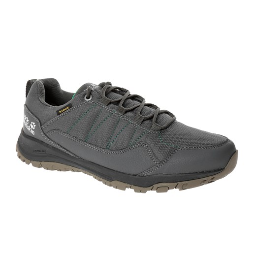 Jack Wolfskin  Erkek Outdoor Ayakkabı MAZE TEXAPORE LOW M J WOLFSKIN FOOTWEAR DARK STEEL - GREEN