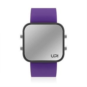 UPWATCH BLACK&PURPLE