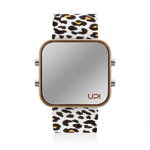 UPWATCH BROWN&LEOPARD