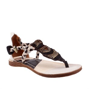 As 98 Kadın Sandalet 534027 201 0001 SANDALI DONNA PELLE SUOLA SINTETICA AIR STEP