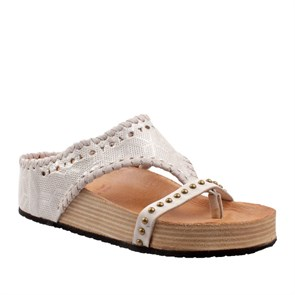 As 98  Kadın Terlik 994002 101 6364 SANDALI DONNA PELLE SUOLA SINTETICA AIR STEP