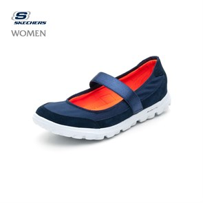 LACİVERT Kadın Babet 13522 NVY SKECHERS GO WALK - EVERYDAY - NAVY