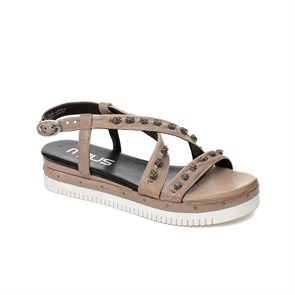 Kadın Sandalet 752014-101 6477 MJUS LEATHER SANDALS OPALE
