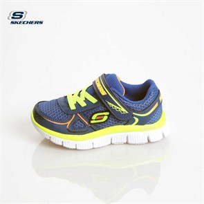 Çocuk (1-5 Yaş) Spor Ayakkabı 95095N RYYL SKECHERS BOYS SPORT INFANTS FLEX ADVANTAGE- MINI RACE ROYAL-YELLOW