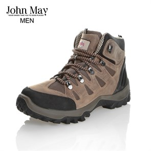 BEJ Erkek Outdoor Bot MK-JM1465CKU CYBER JOHN MAY WATERTIGHT DERİ BOT CRAZY KUM