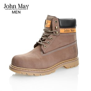 Erkek  WaterProof Poliüretan Taban MK-JM5130NKU JOHN MAY MONTANA WATERTIGHT DERİ BOT NUBUK KUM