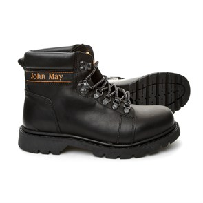 Ayakkabi  MK-JM5131DS JOHN MAY MONTANA WATERTIGHT DERİ BOT DERİ SİYAH