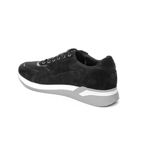 Ayakkabi  SA-7Y6891-5662 JOHN MAY SUEDE BLACK