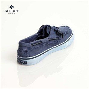 Ayakkabi  STS91304 SPERRY BAHAMA 2-EYE WASHED NAVY