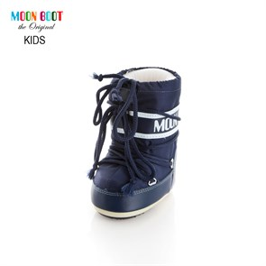 Ayakkabi  14004300-002 MOON BOOT MINI NYLON BLUE (19-22)