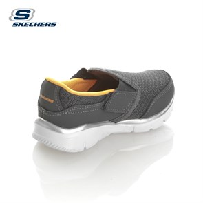Ayakkabi  95489N CCOR SKECHERS EQUALIZER- LIL PERSISTENT CHARCOAL/ORANGE 21-26