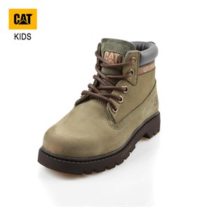 Caterpillar Çocuk (9-13 Yaş) Bot 015F100031 COLORADO CATERPILLAR DARK GREEN -- NUBUK 31-35