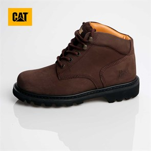 Caterpillar KAHVERENGİ Erkek Bot 015M0139 CATERPILLAR CAMPBELL DARK BROWN Crazy Deri