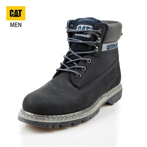 Caterpillar LACİVERT Erkek Bot 015M101120 COLORADO TRANSLUCENT CATERPILLAR NAVY -- NUBUK