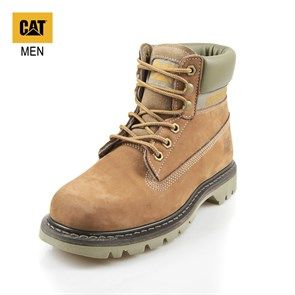 Caterpillar LACİVERT Erkek Bot 015M101121 COLORADO (BASIC SPICE) CATERPILLAR OATMEAL -- BASKILI NUBUK