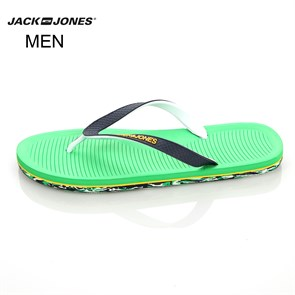 Jack & Jones Erkek Terlik 12103735 JJCAMPOS RUBBER PACK FLIP FLOP FERN GREEN