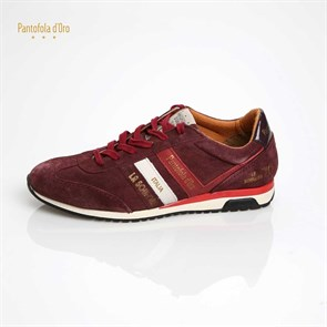 Pantafolo Doro BORDO Erkek Sneaker LUCCA RETRO LOW MEN -  PORT ROYALE