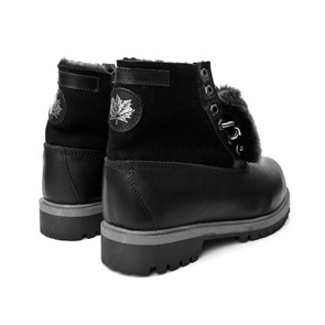 Ayakkabi Pegia 500113 PEGIA LEATHER BLACK