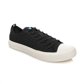 People BEYAZ Erkek Sneaker NC01W  PHILLIPS WEAVE REALLY BLACK-PICKET WHITE