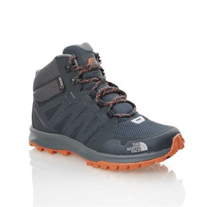 LACİVERT Kadın Outdoor Bot T92Y8PZFZ W THE NORTH FACE LITEWAVE FP MD GTX URBAN NAVY-NASTRTIUM ORNG