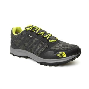 GRİ Erkek Outdoor Ayakkabı T92Y8UNGD M THE NORTH FACE LITEWAVE FP GTX CLIMBING IVY GRN-LIME GRN