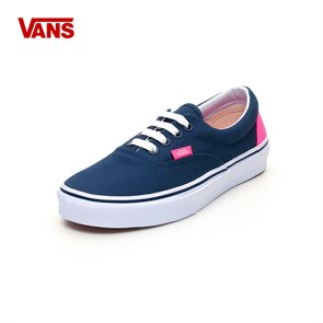 Vans Kadın Keten Ayakkabı VVHQ9VF ERA (HEEL POP) - DRESS BLUES-NEON PINK