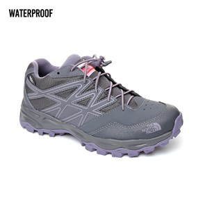 GRİ Erkek Çocuk Outdoor Ayakkabı T0CJ8P5SS JR HEDGEHOG HIKER WP THE NORTH FACE  PERISCOPE GRY-PURPLE SAGE 35-38