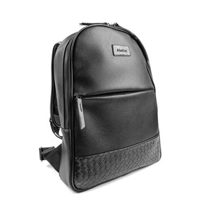SİYAH Erkek Sırt Çantası OR- 1039 JOHN MAY KNITTING BACKPACK BLACK