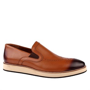 Erkek Slip On - Bağcıksız AS- 2657 LEATHER JOHN MAY