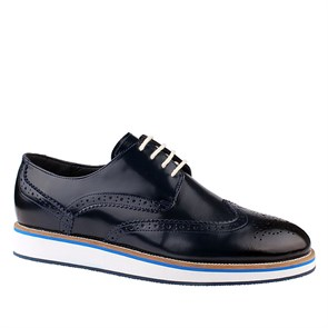 Erkek Oxford-Ayakkabı AS- 2316 SHINY LEATHER JOHN MAY
