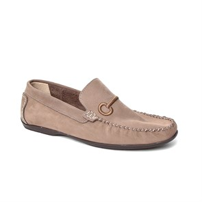 Erkek Loafer ED-9944 JOHN MAY VİZON NUBUK