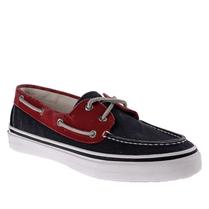 LACİVERT Erkek Marin 1277425 SPERRY BAHAMA  - NAVY-RED