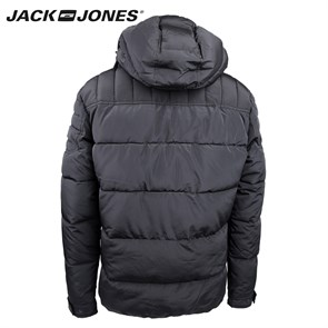 Erkek Mont 12092245 JACK & JONES CO GARY PUFFER JACKET CAMP BLACK