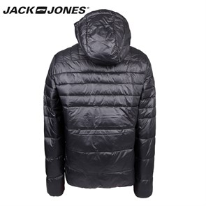Erkek Mont 12095453 JACK & JONES CO BARON PUFFER JACKET CAMP BLACK