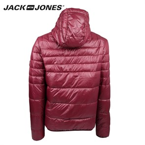 Erkek Mont 12095453 JACK & JONES CO BARON PUFFER JACKET CAMP BURGUNDY