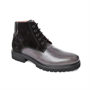 Hush Pappies SİYAH Erkek Bot 031M101573 HUSH PUPPIES TADES BOOT  BLACK -- DERI-SUET