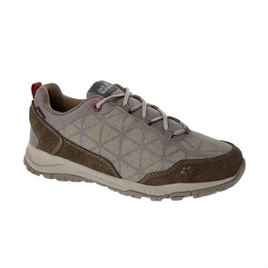 Jack Wolfskin  Kadın Outdoor Ayakkabı ACTIVATE XT TEXAPORE LOW W J WOLFSKIN FOOTWEAR CLAY - BURGUNDY