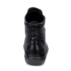 Kadın Bot 20652356723 ECCO SOFT 2.0 BLACK WITH BLACK SOLE