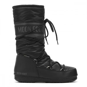 Kadın Bot 24009100 001 MOON BOOT HIGH NYLON WP BLACK