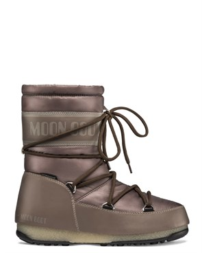 Kadın Bot 24009200 005 MOON BOOT MID NYLON WP MUD