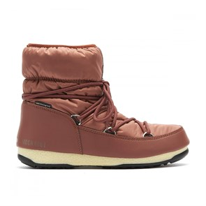 Kadın Bot 24009300 004 MOON BOOT LOW NYLON WP 2 RUST