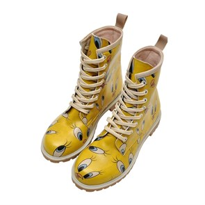 Kadın Bot WB018-LB729 Dogo WB Long Bootz Tweety in Yellow