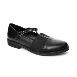SİYAH Kadın Babet MS- 413-68 JOHN MAY LEATHER BLACK